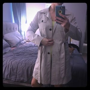 Ann Taylor Loft trench coat